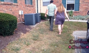 Busted neighbor's Married slut catches me recording her c33bdogg