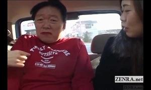 Subtitled japanese public femdom cross dressing chap