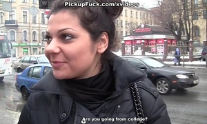 Reality porn clip with a secretary