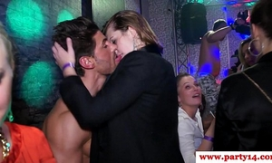 Real amateurs at euro party engulfing on dong