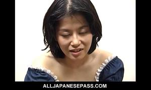 Miku is a lustful older japanese honey