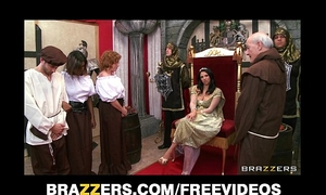 The queen acquires caught cheating and is punished with rough-sex