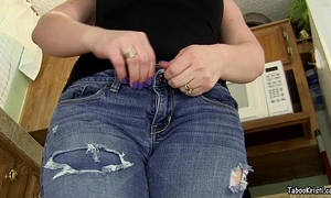 Smell your sister's alluring anus brother - taboo milf perverted kristi