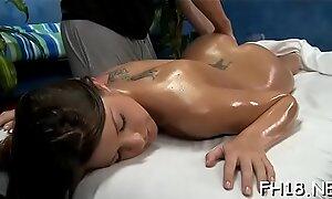 Massage group-sex