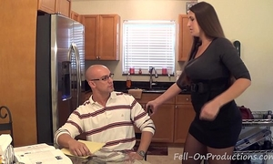 """Madisin lee in milf mama helps son with his """"term paper blue balls"""""""